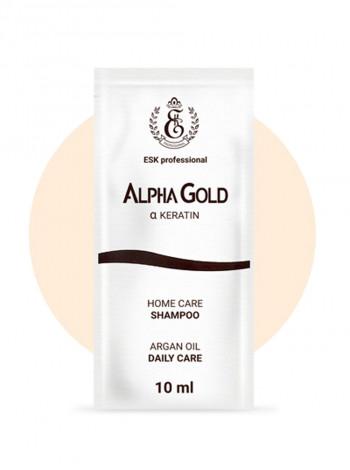 Саше шампунь Alpha Gold (1 штука)