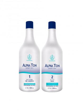 Горячий ботокс для волос Alpha Ton (1000 мл)